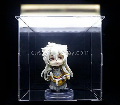 Custom clear acrylic figure storage box