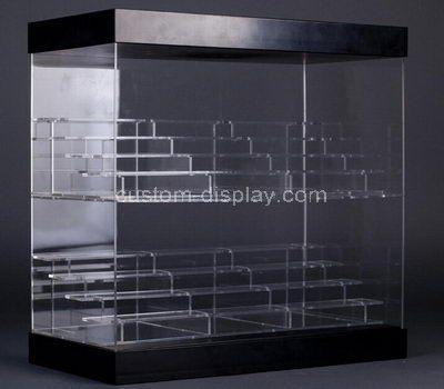 Custom design multi tired clear acrylic display case