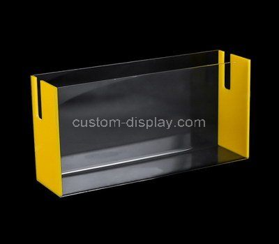 Custom design narrow clear acrylic display box
