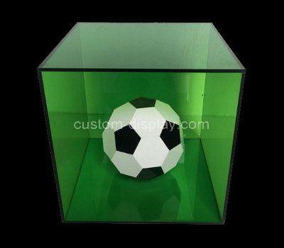 Custom design acrylic football display box