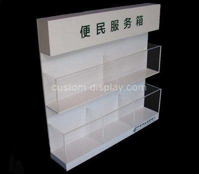 Custom design acrylic convenience services box
