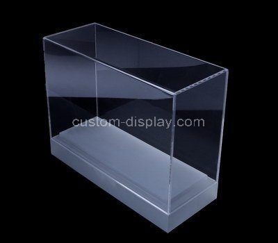 Custom design narrow acrylic display case