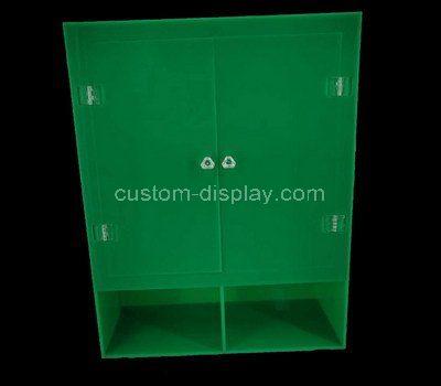 Custom design acrylic cabinet with doors