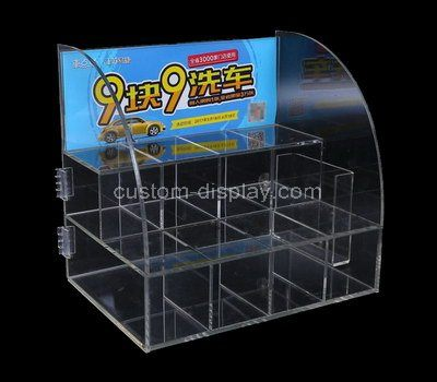 Custom design clear acrylic display holders