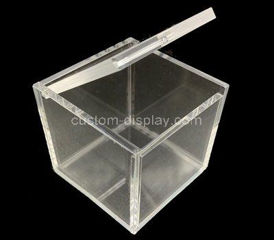 Custom design square acrylic box with lid