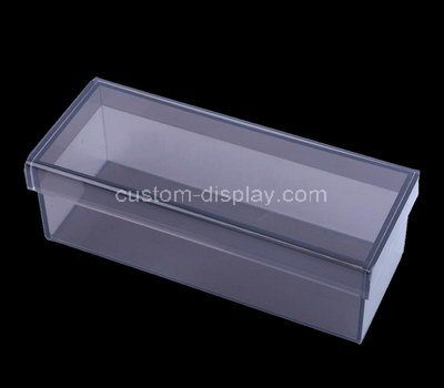 Custom design acrylic wine bottle box