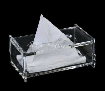 Custom design clear acrylic napkin holder