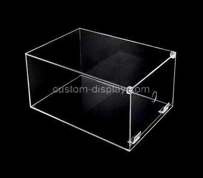 Custom design clear acrylic storage box
