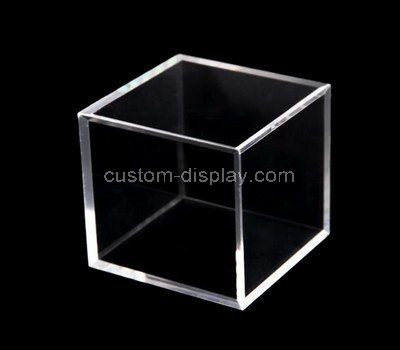 Custom design acrylic cube box