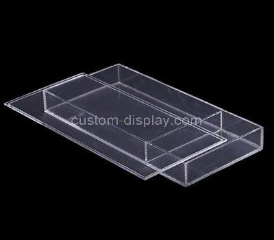 Custom design clear acrylic box with lid