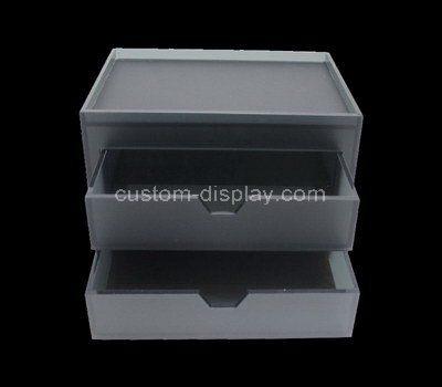 Custom design acrylic drawer box