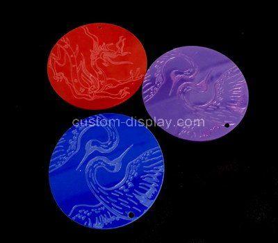 Acrylic etching