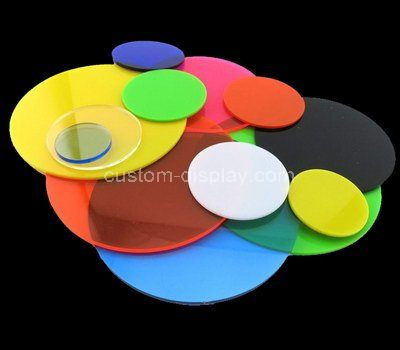 Custom cut acrylic disc