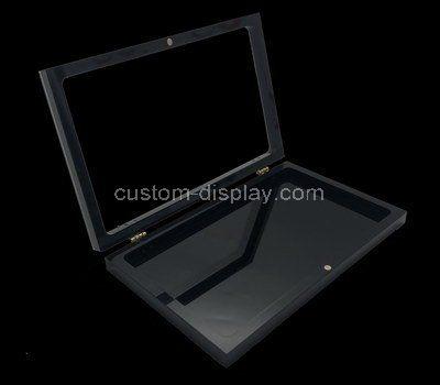 Custom design acrylic flat box with lid