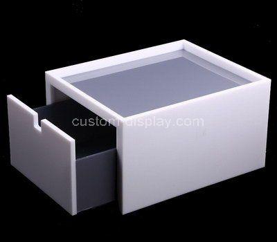 Custom design acrylic single drawer box