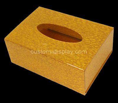 Custom acrylic napkin box