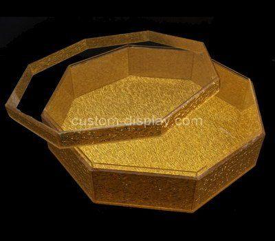 Custom octagon acrylic box