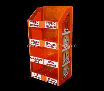 Custom retail acrylic phone accessories cabinet
