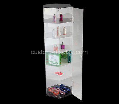 Custom acrylic phone accessories cabinet
