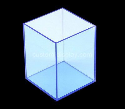 Custom 5 sided acrylic box
