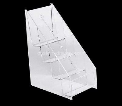 Custom 4 tiers acrylic brochure holders