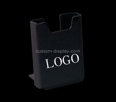 Custom table top black acrylic pamphlet holder