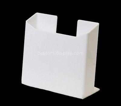 Custom white acrylic pamphlet holder