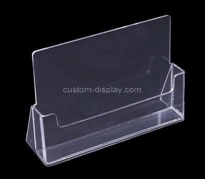 Custom clear acrylic pamphlet holder