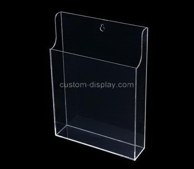 Custom wall clear acrylic pamphlet holder