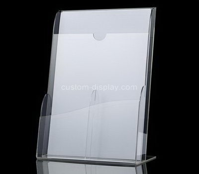 Custom table top acrylic pamphlet holder