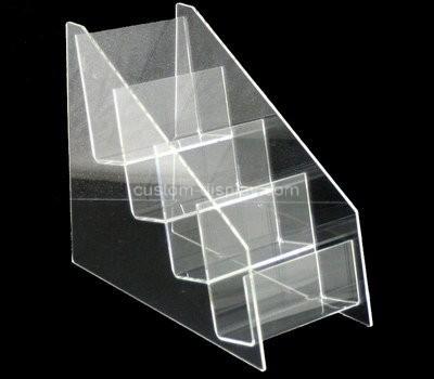 Custom 4 tiered acrylic pamphlet holder