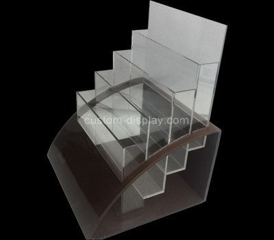 Custom 4 tiers acrylic literature holder