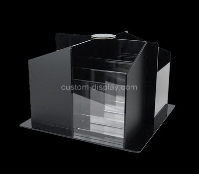 Custom table top 4 sided acrylic literature holder