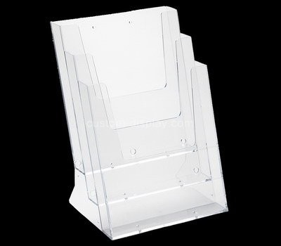 Custom wall 3 tiers acrylic leaflet holders