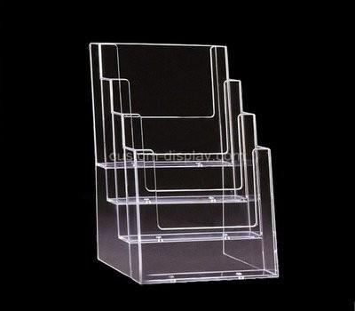 Custom 4 tiers acrylic leaflet holders