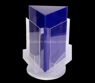 Custom table top 3 sided acrylic leaflet holders