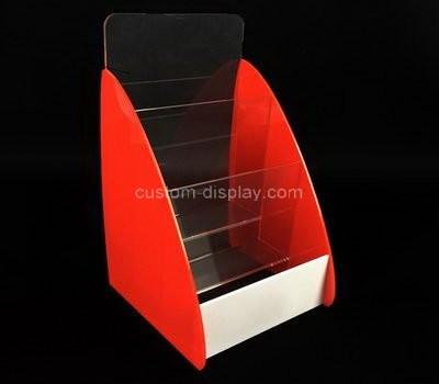 Custom table top acrylic leaflet holders