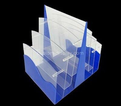 Custom 6 tiers acrylic file organziers