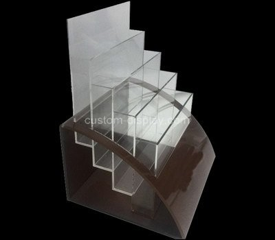Custom 4 tiers acrylic literature holders