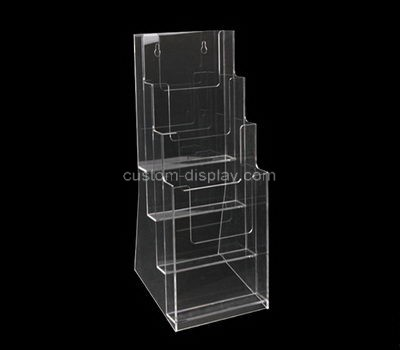 Custom wall 4 tiers acrylic leaflet holders