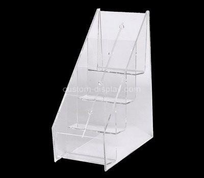 Custom 4 tiered acrylic leaflet holders