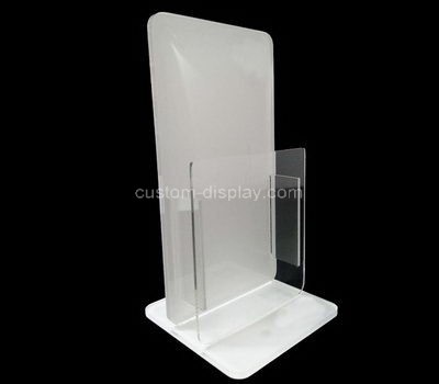 Custom counter top acrylic leaflet holder