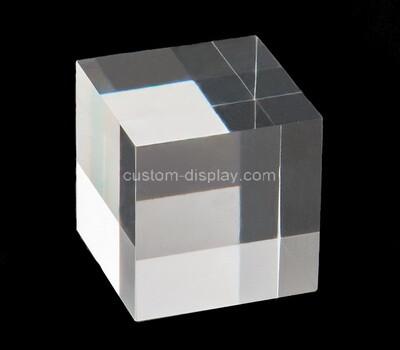 Custom square acrylic display cube