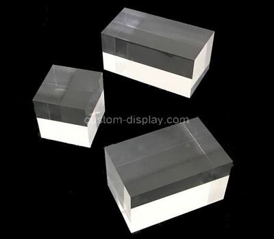 Custom clear acrylic display cube