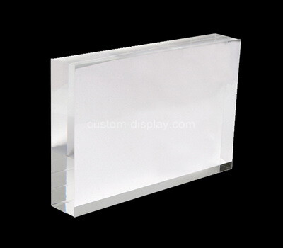 Custom plexiglass block