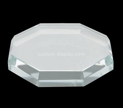 Custom lucite beveled block