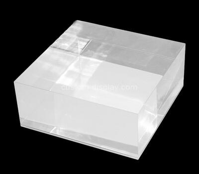 Custom lucite display block
