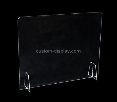 Custom acrylic table divider partition shield