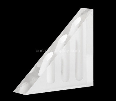 Custom triangle perspex display block