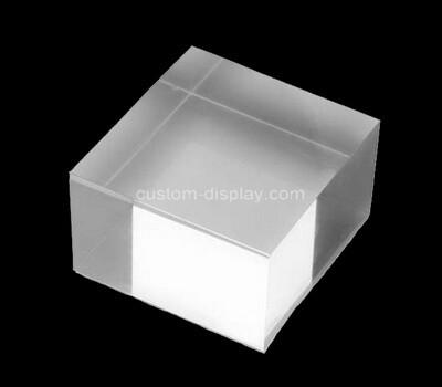 Custom clear perspex block
